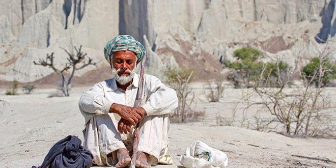 مرد بلوچ تصاویر زیبا از بلوچستان