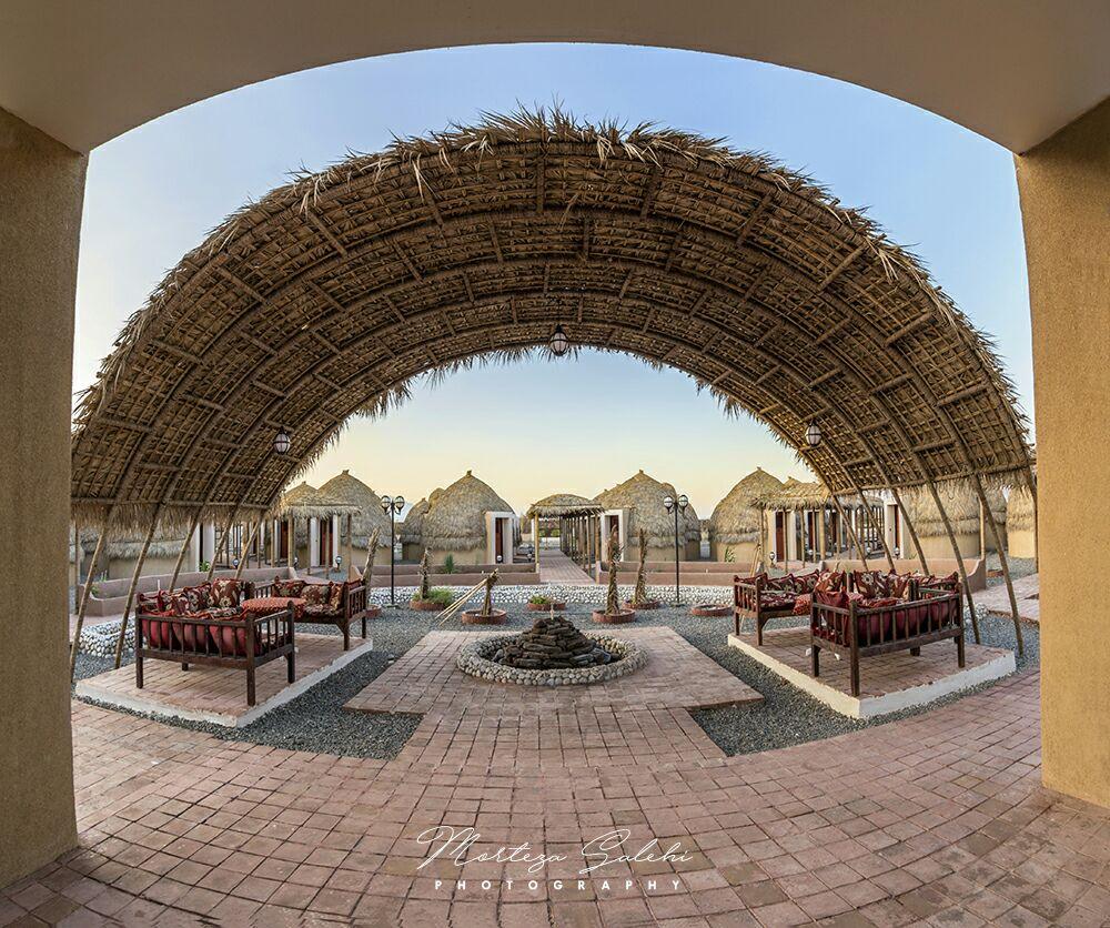 هتل کپری شهرستان قلعه گنج هفت شهرستان جنوب کرمان