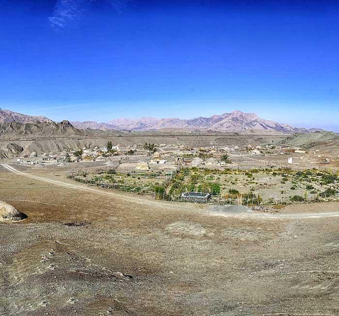 روستای جهلدر شهر قلعه گنج