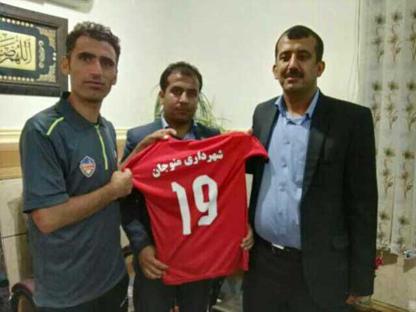 تیم قوتبال شهرداری منوجان