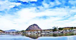 کوه میل فرهاد در شمال جازموریان جاذبه گردشگری جنوب کرمان